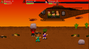 Fist Puncher, the dreaded helicopter level